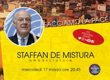 Staffan De Mistura all'Università del Dialogo